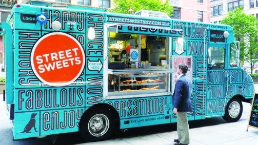 La mode des Food Trucks