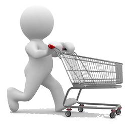 Caisse enregistreuse ventes en ligne